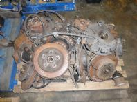2002 LEXUS IS200 COMPLETE REAR HUB WITH WHEEL BEARING DRIVER SIDE FREE POSTAGE